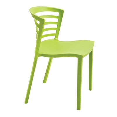 Entourage Stacking Chair Color: Grass Product Picture 7537