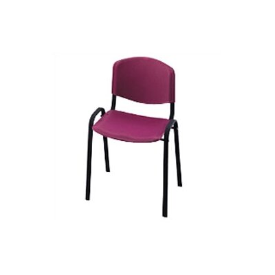 Contour Guest Chair (Set of 4) Seat Finish: Burgundy Product Picture 7558