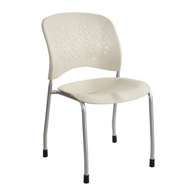 R�ve Series Guest Chair Seat Color: Latte