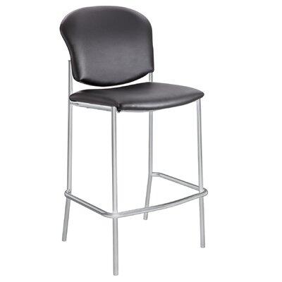 Diaz 30 Bar Stool Upholstery: Black VInyl