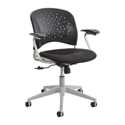 R? Series Mid-Back Task Chair Seat Back Color: Black Product Photo 307