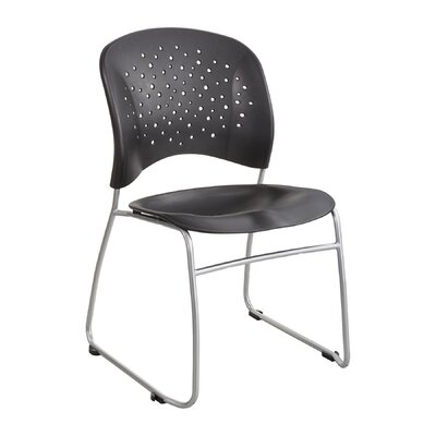R�ve Series Guest Chair Seat Color: Black