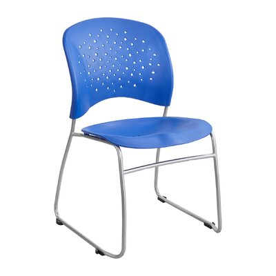 R�ve Series Guest Chair Seat Color: Lapis