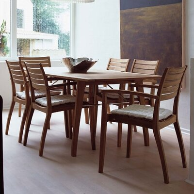 Ballare Teak Dining Table with Joint Filler