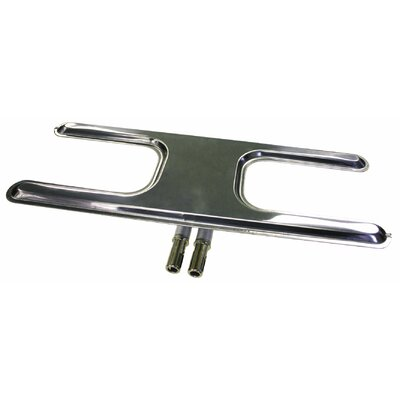Stainless Steel H Burner Size: 16