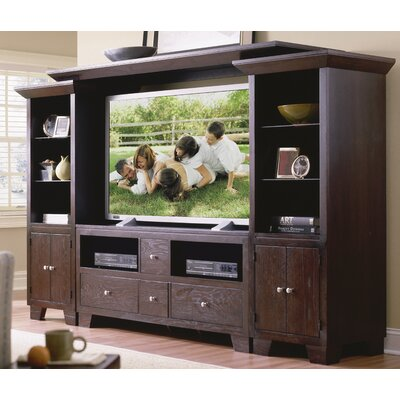 Cheap Riverside Furniture Riverside Furniture Lifestyles 60″ Freestanding TV Stand Entertainment Center in Espresso (RVF1221)