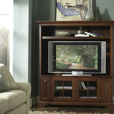 Cheap Riverside Furniture Visions 64″ Entertainment Center in Bordeaux Cherry (RVF1263)