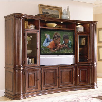Cheap Riverside Furniture Ambiance 60″ Pier Cabinet Entertainment Center in Sangria Cherry (RVF1231)