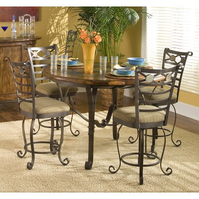 stone forge gathering table in tuscan sun rvf3467 on dining tables