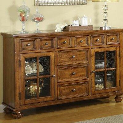 Cheap Riverside Furniture Delcastle Server in Antique Irish Pine (RVF4130)