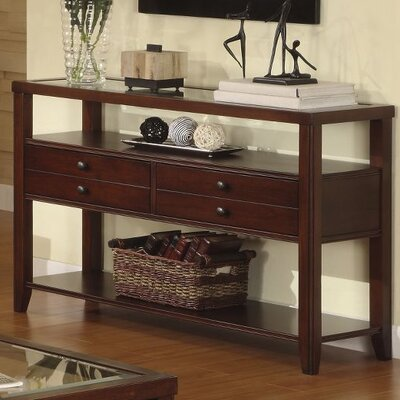 Cheap Riverside Furniture Avenue Sofa Table in Dark Cherry (RVF4025)