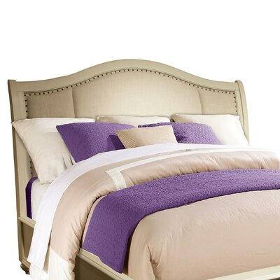 Coulonge Upholstered Sleigh Headboard Size: King/California King