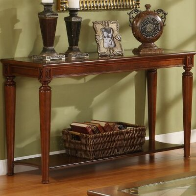 Cheap Riverside Furniture Yorktown Sofa Table in Vintage Cherry (RVF4319)