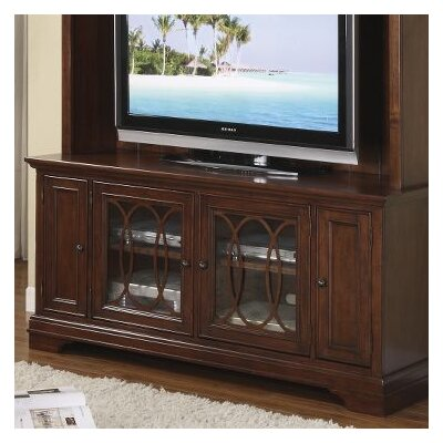 Cheap Riverside Furniture Yorktown 60″ TV Stand in Vintage Cherry (RVF4322)