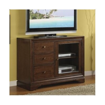 Cheap Riverside Furniture Bella Vista 44″ TV Stand in Warm Transitional Cherry (RVF4045)