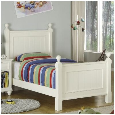 Cheap Splash of Color Panel Bed in Shores White (RVF4584)