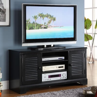 Cheap Riverside Furniture Splash of Color 51″ TV Stand in Distressed Antique Black (RVF4542)