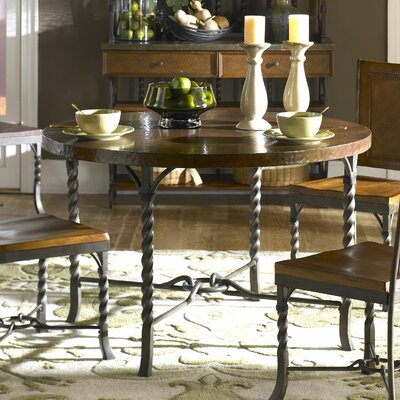 riverside furniture medley 5 piece round dining room set