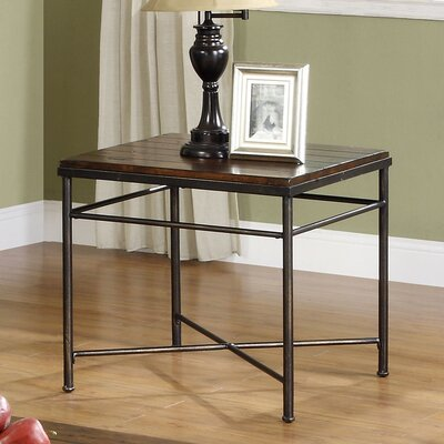 Cheap Riverside Furniture Logan Square End Table in Aged Pine (RVF4878)