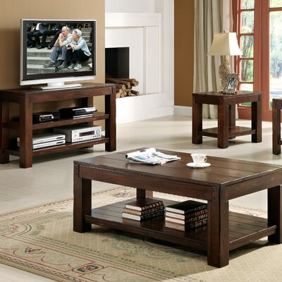 Purgatoire Valley 3 Piece Coffee Table Set