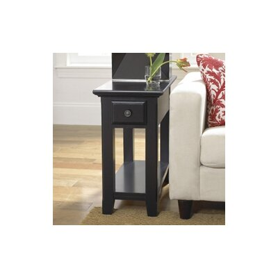 Buy Low Price Riverside Furniture Cobble Hill Chairside Table In Bridgewood Black Rvf2708