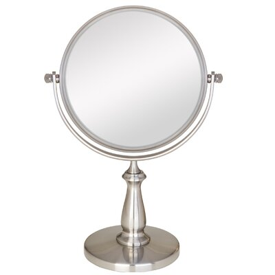 Swivel Vanity Mirror Magnification: 8x - 1x