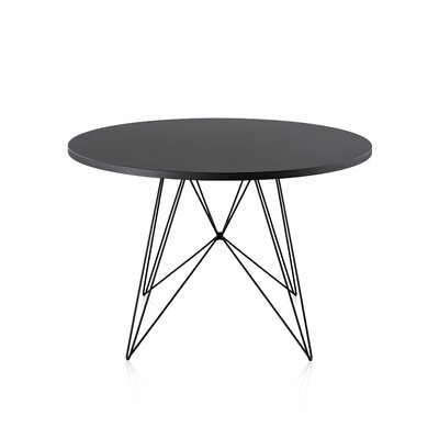 Tavolo XZ3 Table Leg Finish Black Top Finish Black