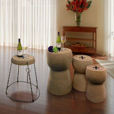 Champagne Coffee Table Set