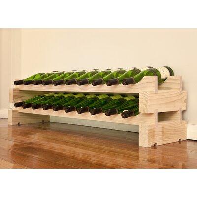 Vinotemp 20 Bottle Tabletop Wine Rack - Finish: Natural at Sears.com
