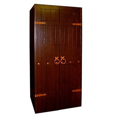 Clavos 440-model Wine Cooler Cabinet Wood Finish: Rich Brown