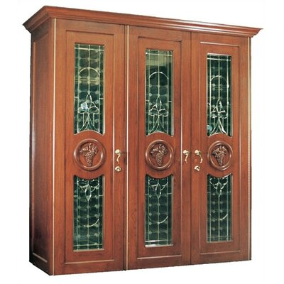 900 Concord Oak Wine Cooler Cabinet Wood Finish: Victorian Mahogany