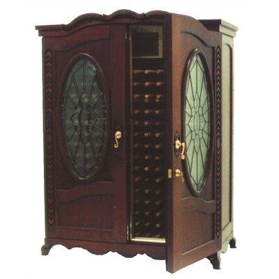 The Louis Oak Wine Cooler Cabinet Wood Finish: Iced Oak