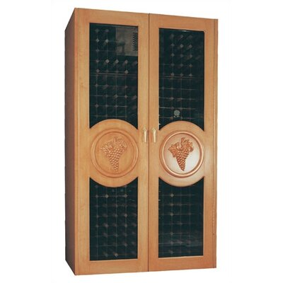700 Concord Oak Refrigerated Wine Cabinet Wood Finish: Fruitwood