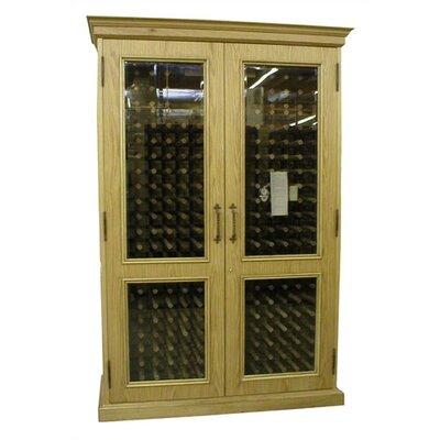 700 English Oak Wine Cooler Cabinet Wood Finish: Unfinished