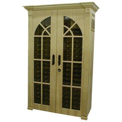 700 Monaco Modern Oak Wine Cooler Cabinet Wood Finish: Iced Oak