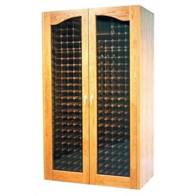 700 Provincial Oak Wine Cooler Cabinet Wood Finish: Chestnut