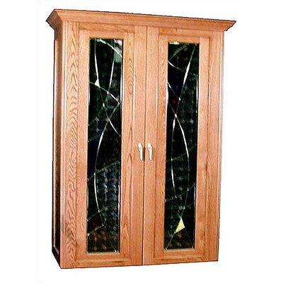 700 Soleil Oak Wine Cooler Cabinet Wood Finish: Chestnut