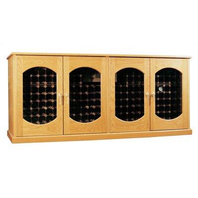 Oak Wine Cooler Credenza Lexington Wood Finish: Victorian Mahogany