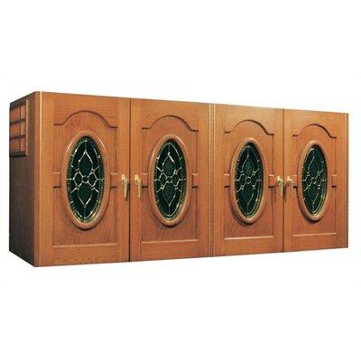 Oak Wine Cooler Credenza Napoleon Wood Finish: Light Walnut