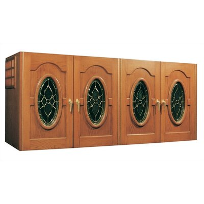 Oak Wine Cooler Credenza Napoleon Wood Finish: Fruitwood