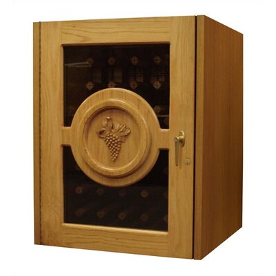 Concord Single Door Oak Wine Cooler Wood Finish: Victorian Mahogany