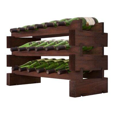 3 x 6 Bottle Modular Wine Rack