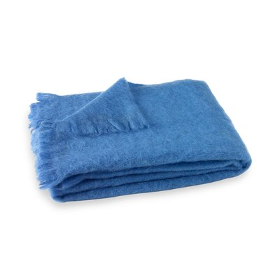 Brushed Mohair Throw Color: Provence