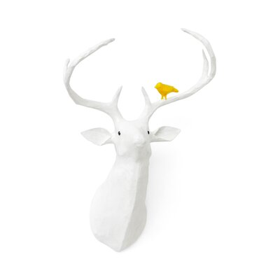 Deer Papier-M ch Head Wall D cor image