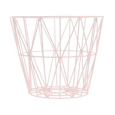 Kimono Rosette Wire Basket Size: Medium image