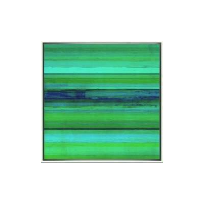 Vibrant Vert Panel II