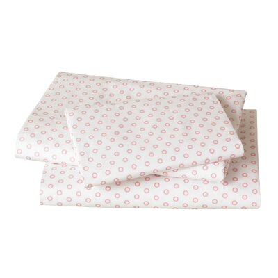 Floral Dot Pale Rose Sheet Set image