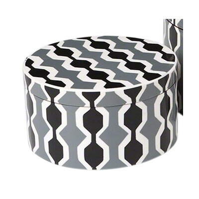 Chelsea Stripe Round Box Size: Large
