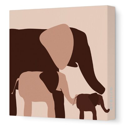 Graphic Elephant Artwork Size: 28 x 28 image