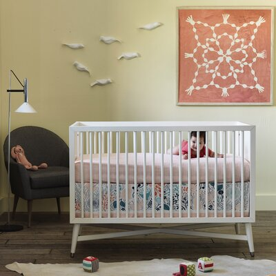 Meadow Nursery Bedding Collection-Meadow Bumper image